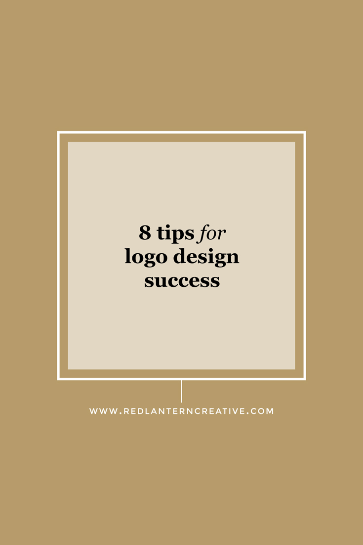 8 tips for logo design success