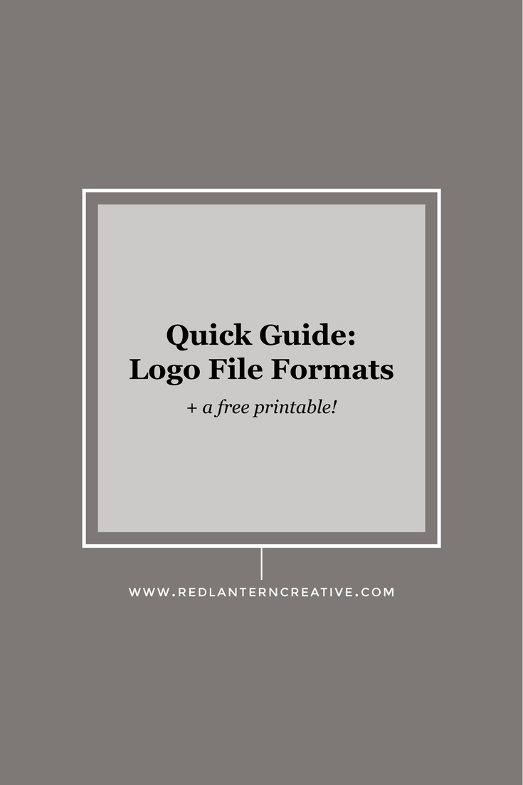 Quick guide: logo file formats
