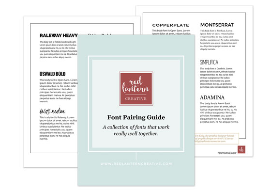 Font Pairing Guide