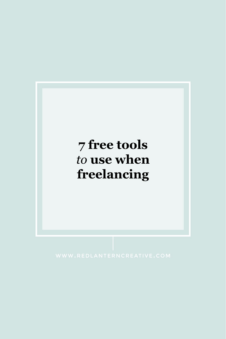 7 Free Tools to Use When Freelancing