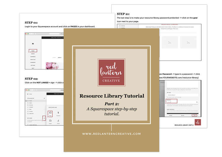 Resource Library Tutorial