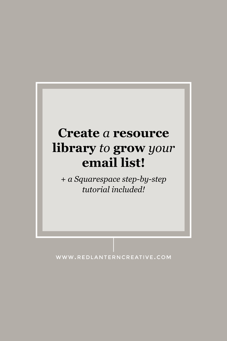 Create a Resource Library to Grow Your Email List