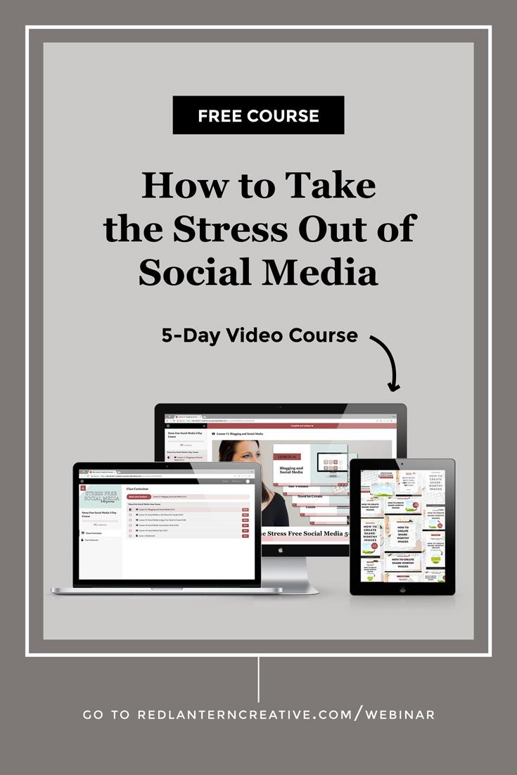Stress Free Social Media