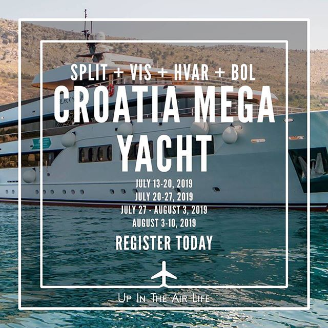The plans are already in motion for my birthday next year! Join yours truly & @upintheairlife July 20-27, 2019 in Croatia! I will be spinning on the yacht as we set sail! DM me for for information!  #UpInTheAirLife #Uital #Croatia #MegaYacht  #InternationalDJ #ComplexTheDJ #DJComplex #happybirthdaytome
