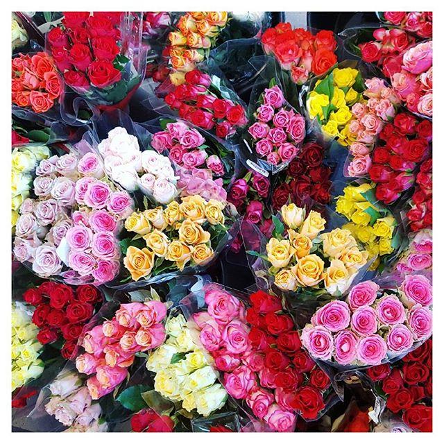 Supermarkedsblomster gør trætte tirsdage lidt mere medgørlige 💛💚💙❤💖 #flowersofinstagram #odense #mitodense #flowers #remasfinest #colorcrush #flowerphotography #naturegram #naturelovers