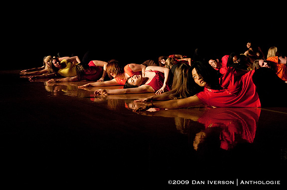 "Members of the Ebony II Dance Company perform to Roisin Murphy's ""Night of the Dancing Flame"" April 24 at Carleton College."
