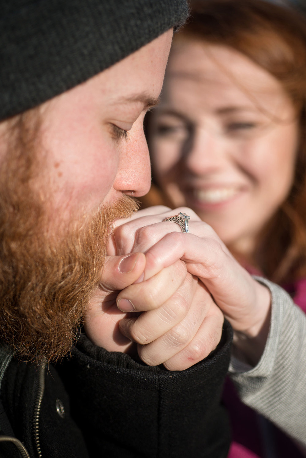 minneapolis engagement photo session ring photo inspiration