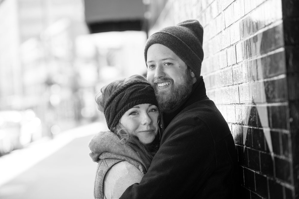 Minneapolis engagement photographer Anthologie