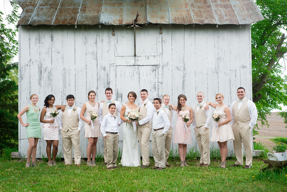 The Red Barn Farm of Northfield makes for a rustic yet elegant location for your wedding day.