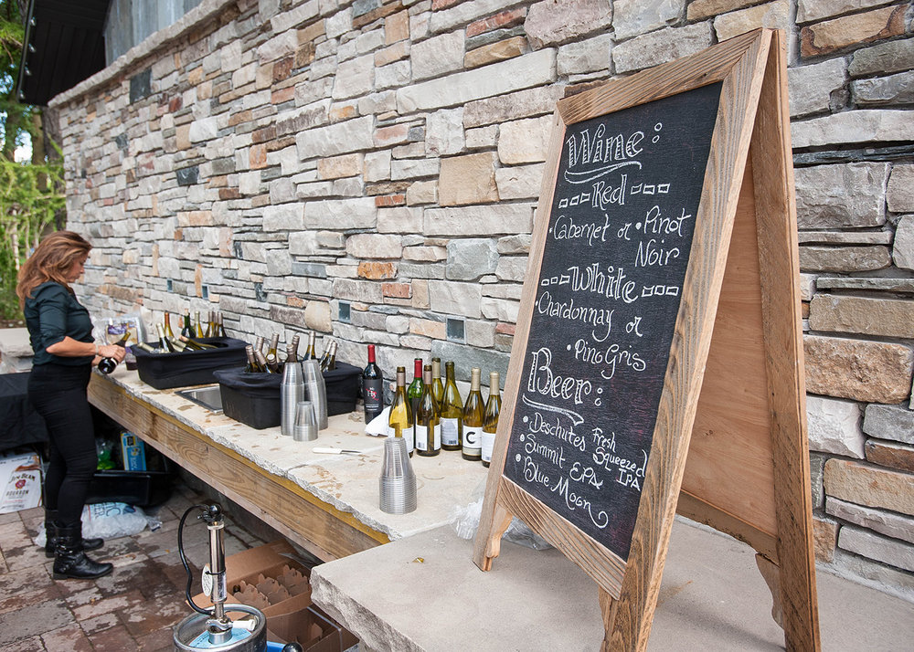 Hosting an outdoor affair and have no clue how to handle serving the libations? Let With a Twist bartending services take away your stress. These pros will be at Thursday's wedding fair so be sure to stop by their booth for more info.
