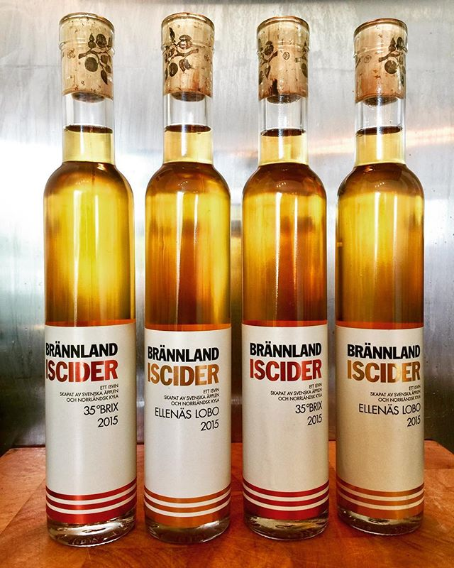 Four bottles of ice cider from @brannlandcider this is THE REAL DEAL ICE CIDER, excited to give these a try!!! #icecider #iceciders #icecidertasting #brännland #brannlandiscider #brannlandcider #brännlandcider #brännlandsiscider #cider #ciders #craftcider #craftciders #ciderdrinker #cidergram #craftciderporn #craftciderlover #craftnotcrap #craftbeer #swedishcider #swedishciders #cidersofinstagram