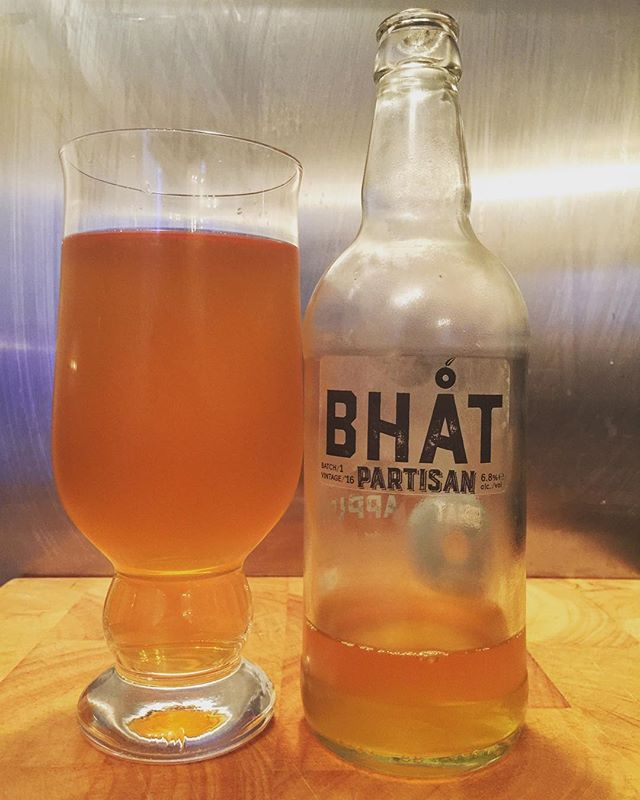 This is a really good cider from Bhat Cider-Partisan Batch 1 6.8%