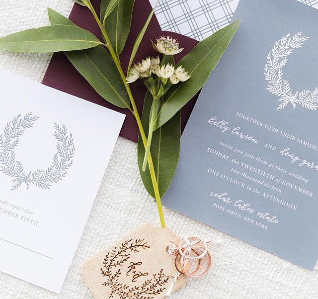 Loved seeing my tag paired with this beautiful invitation suite from @bellacartaboutique and this show stopper of a ring set from @lpriorijewelry from last month's styled shoot! #redoakweddings //beautiful photo courtesy of @cinnamonwolfephotography #lovelyscribecalligraphy . . . . .  Blog: @redoakweddings | Planning + Design: @allwhowanderevents | Photographers: @cinnamonwolfephotography and @jenniferlarsenphoto | Wardrobe Styling: @allisonokoehler | Furniture Rentals: @dovetailrentals | Tabletop Rentals: @borrowedblu | Linens: @adorncompany | Florals (reception table + ceremony): @collyflowersdesign | Florals (personals + cake): @kp_designsfloral | Dress: @rebeccaschoneveld_bridal | Welcome Basket: @thatsdarlin_ | Paper Goods: @bellacartaboutique | Cake: @sweetandflour | Calligraphy: @lovely_scribe | Videography: @tonemedia | Jewelry: @lpriorijewelry | Hair + Makeup: @jlgam | Ribbons @honeysilksco and @susannaluck | Models @kellyann2222 @dougiecapps | Venue: @thesistersofcedarlakes