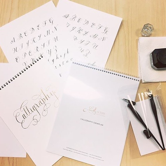 Had a great time teaching my Intro to Calligraphy class today in the corporate environment. Many thanks to @tripadvisor, for the opportunity! #corporatecalligraphy #lscworkshops #moderncalligraphy #njcalligrapher
