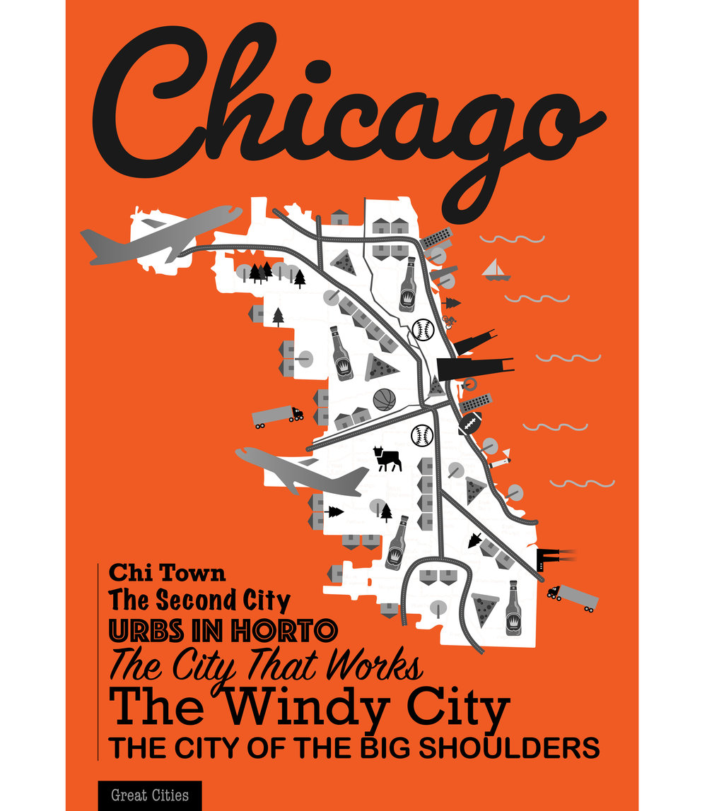 'Great Cities' Poster: Chicago