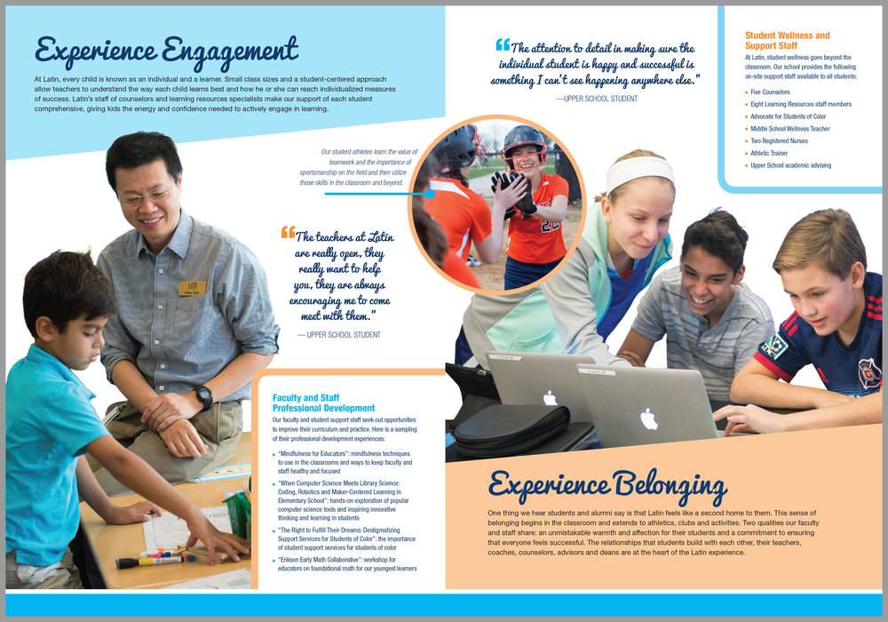 Experience Engagement and Experience Belonging.