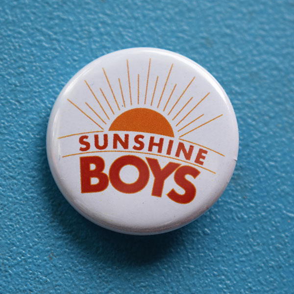 SUNSHINE BOYS LOGO AND CUSTOM EMAIL