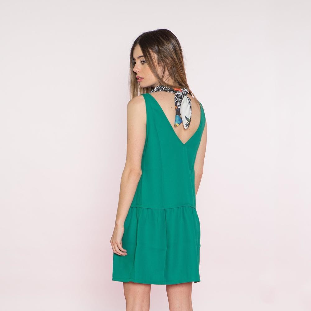 Vestido Aloe & Pañuelo Clara