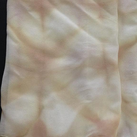 SIlk chiffon scarf