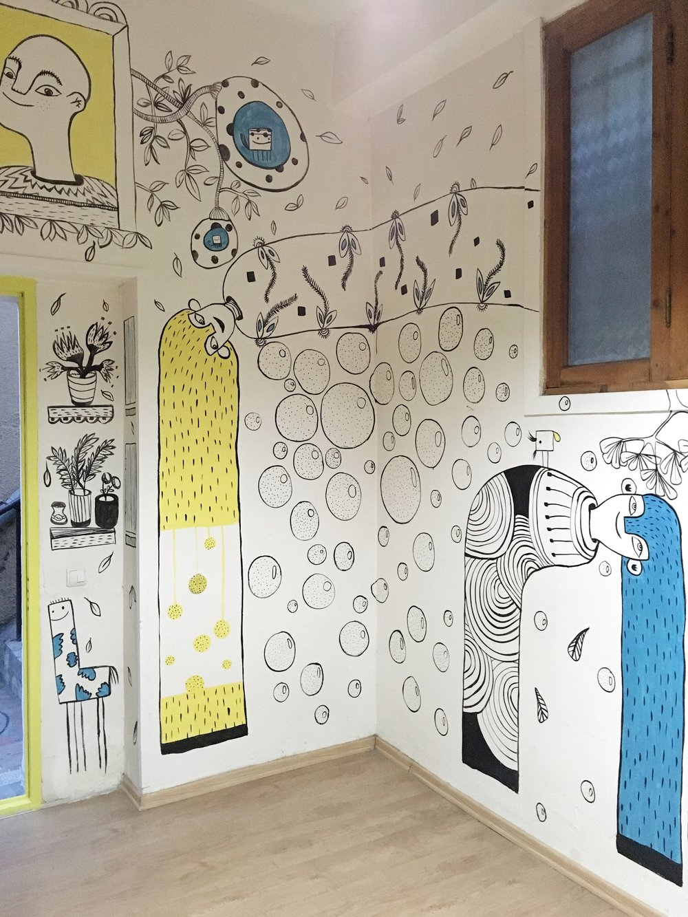 Masholand's Showroom Mural
