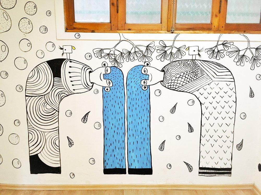 Mural for Masholand's Store