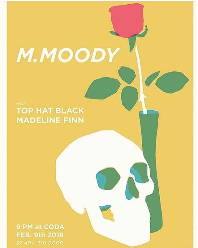 If you don't have plans tonight go to @coda_tremont and check out our good friend @madeline_finn_  with @tophatblackband and @m_moody_music