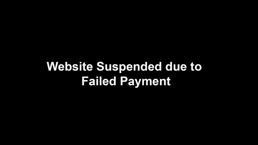 This website has been temporarily suspended until payment has been received by the developer.