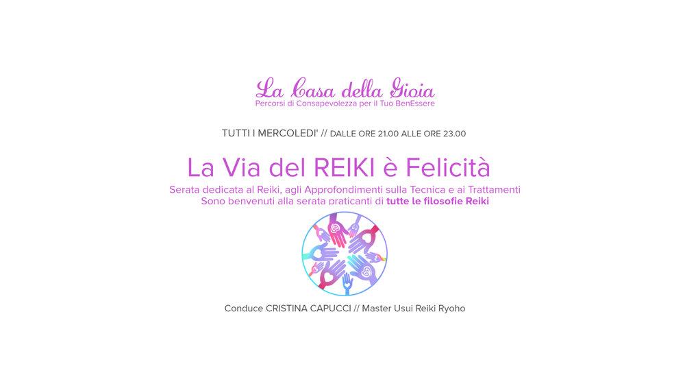 Trattamenti Reiki, Reiki a Como, Energia Reiki, La Casa della Gioia