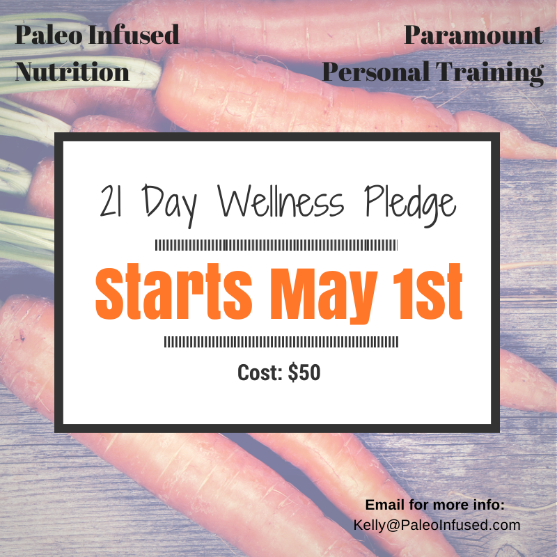 21 Day Wellness Pledge