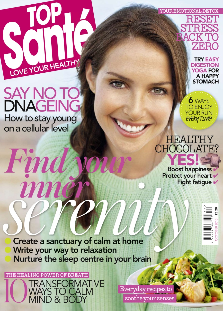 Say No to DNAgeing - Sharron Brennan of Top Santé interviews Mindfulness expert, Hope Bastine, on how regular meditation actually changes your DNA and prevents aging. Check it out here