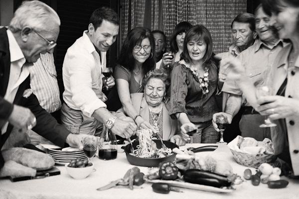 Paolo Roberto and family, Maddaloni