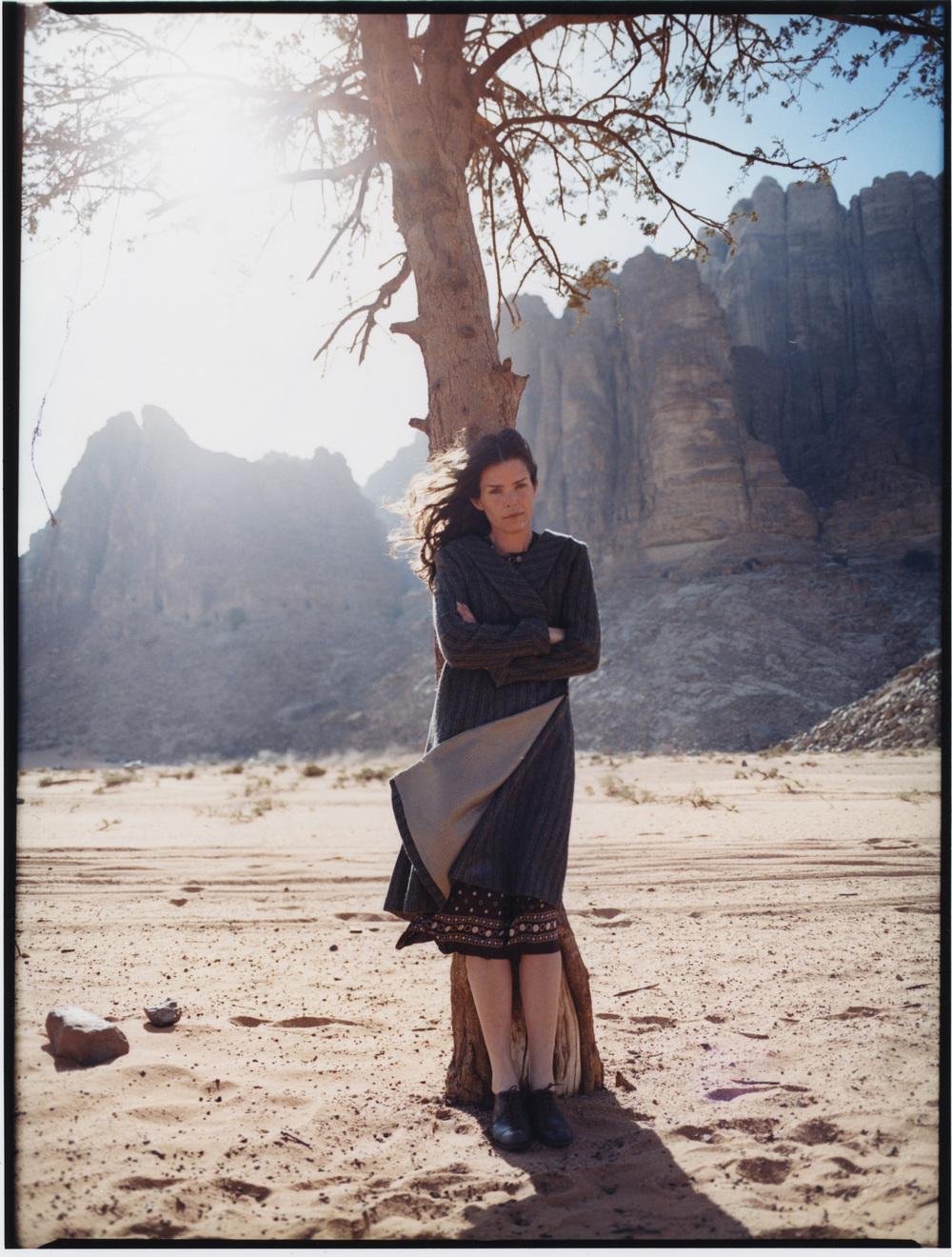 Rebecka Törnqvist, Wadi Rum, Jordania
