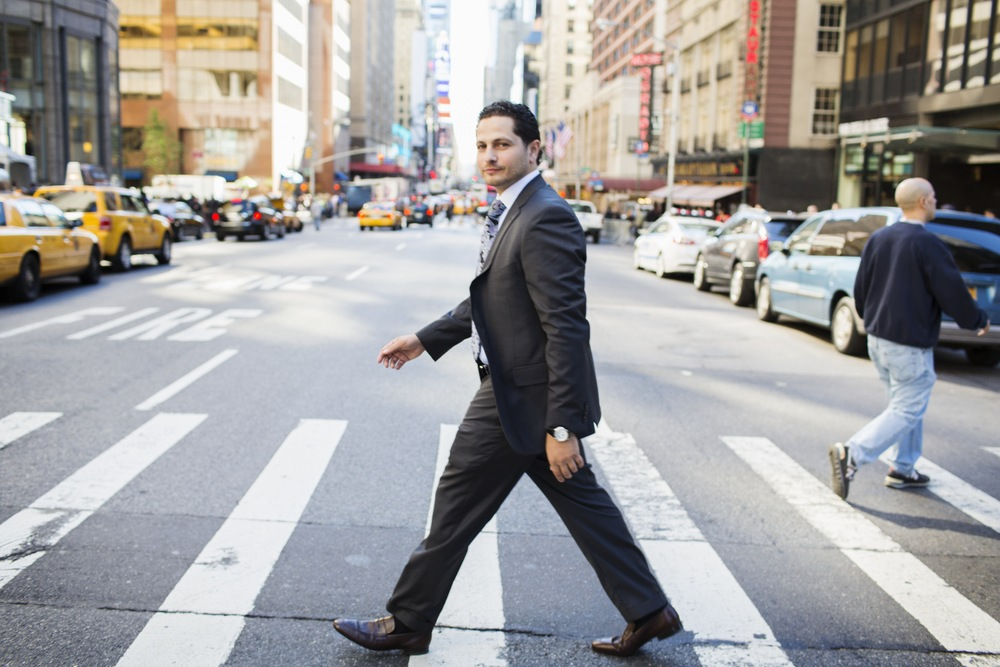 """Ahmad Ashkar founder of the Hult Prize for """"Our Story"""", NYC"""