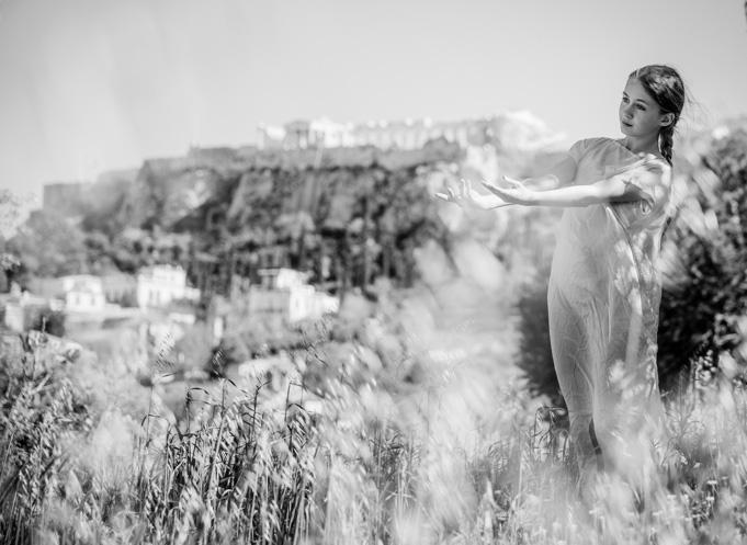 Olga in Athens
