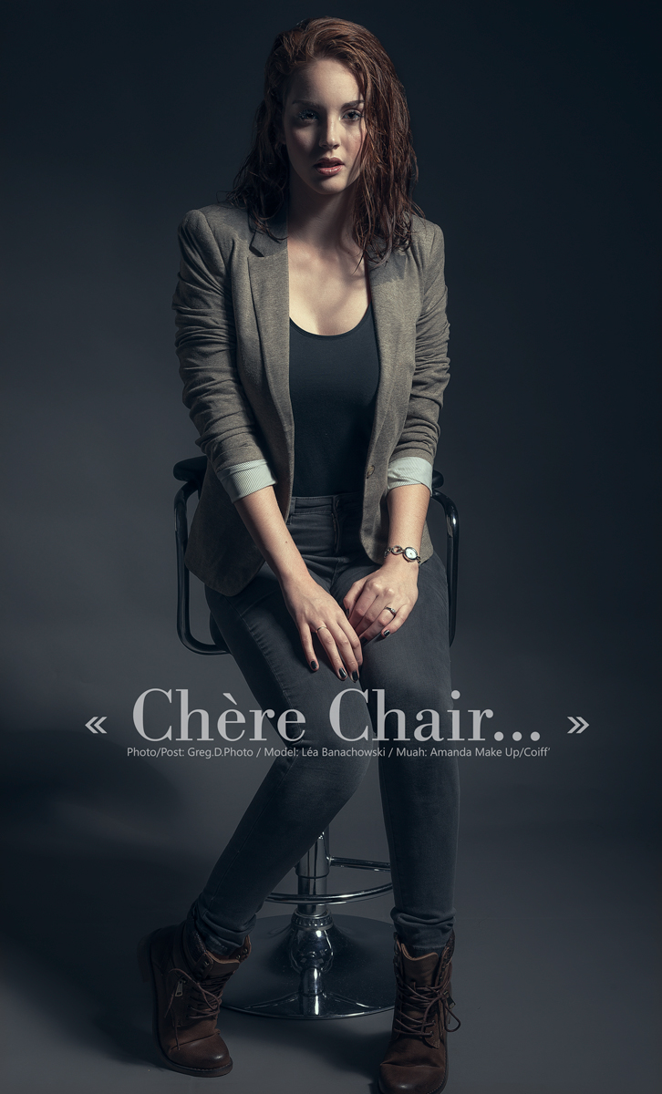 "Post production: Exposition, Contrastes, Colorimétrie, Netteté.  ""Chère Chair..."": Model: Léa Banachowski / MUAH: Amanda Make Up/Coiff' / Photo&Post Production: Greg.D.Photo / Assist: Cyril"
