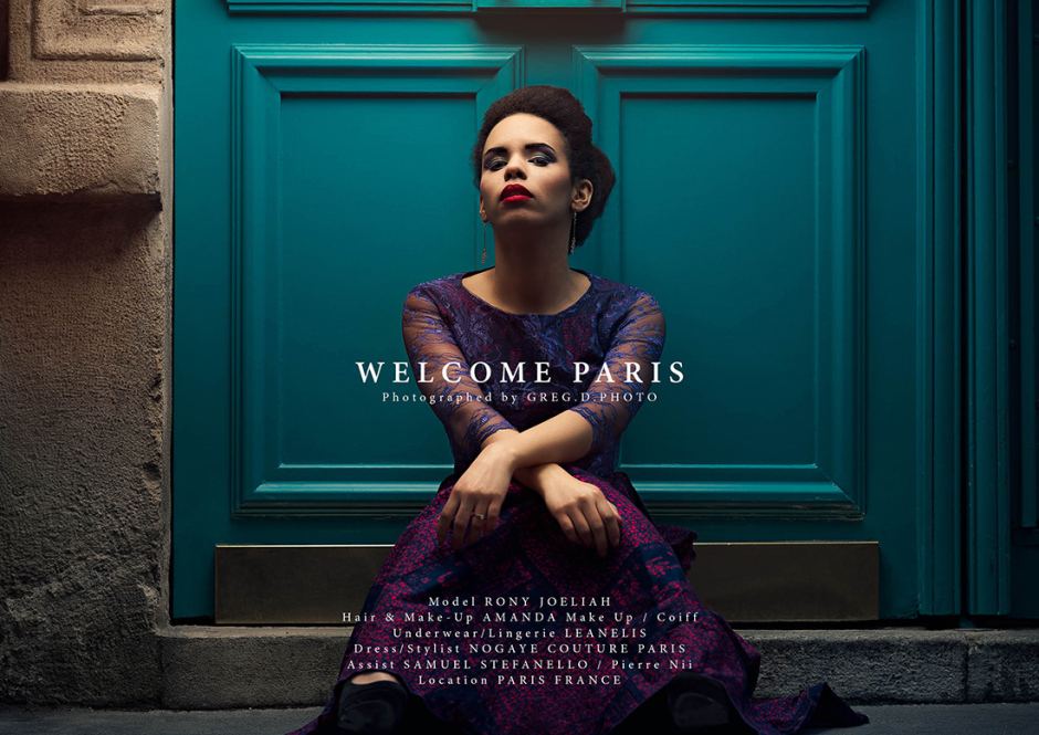 """Welcome Paris"" Editorial 2016 Paris"