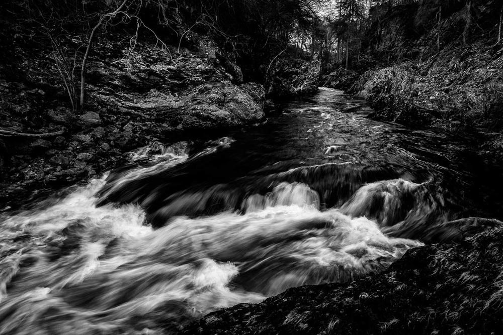 Rocks of Solitude, River North Esk.