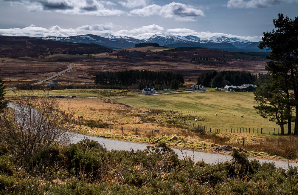 Taken from the roadside between Tomintoul and Grantown-on-Spey - looking into the Cairngorm National Park.