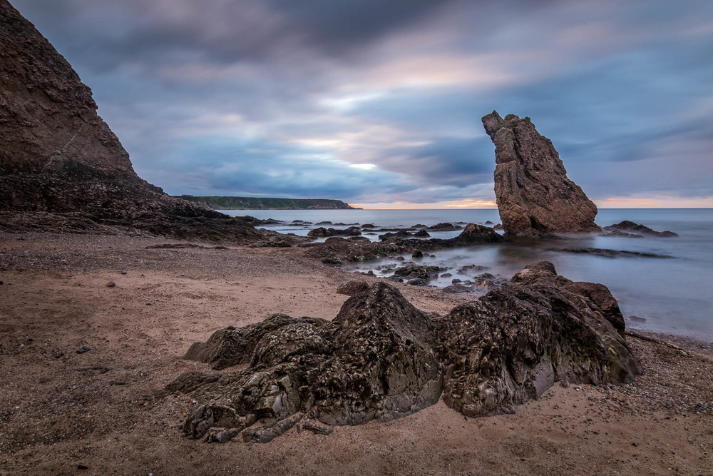 Cullen Beach and the '3 Kings' rock stacks.