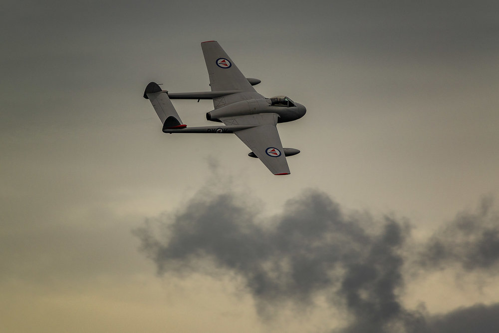 de Havilland Vampire - Norwegian Airforce Historical Squadron