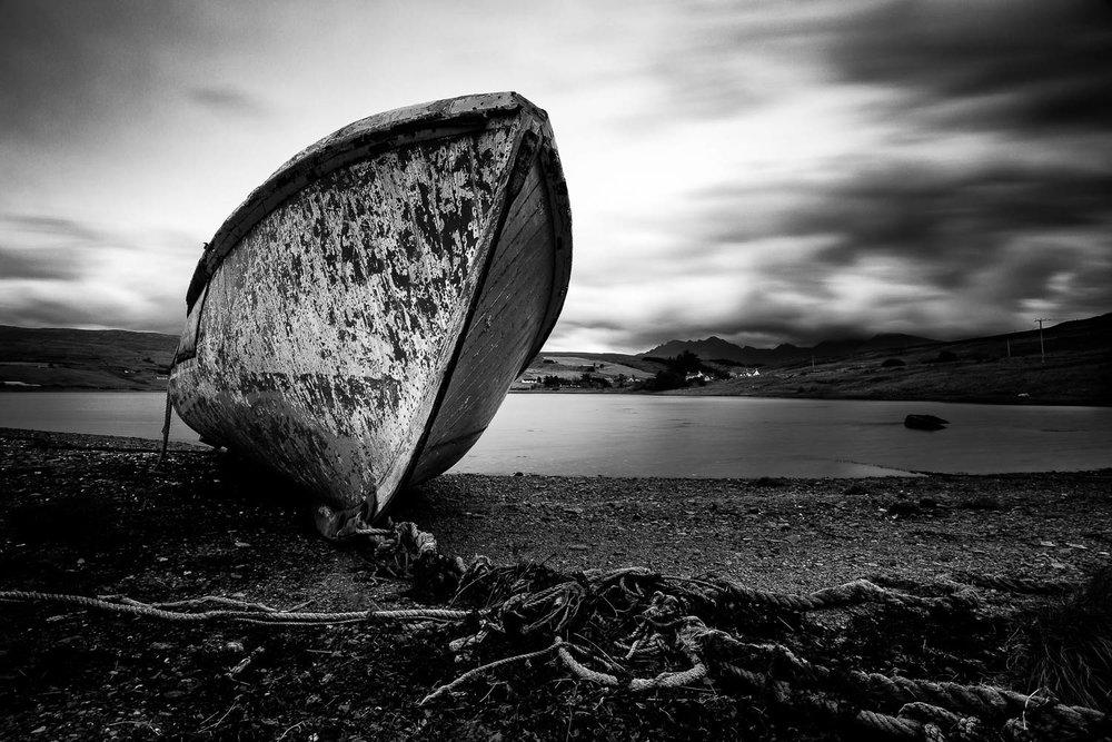 Abandoned, Loch Harport.