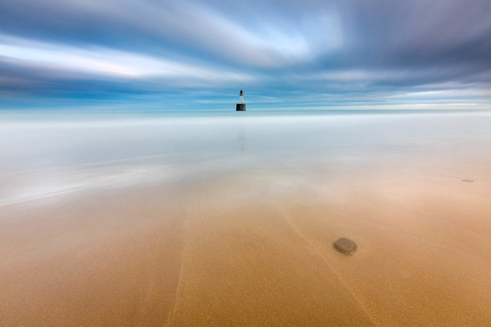 'Sands of Solitude' - Rattray Head Lighthouse