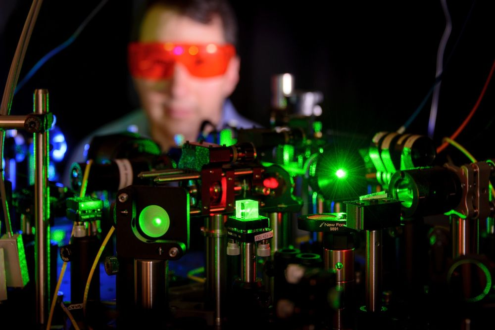 Photonics is being eyed up as the low-cost, highly efficient option for communications. (Photo: HPE)