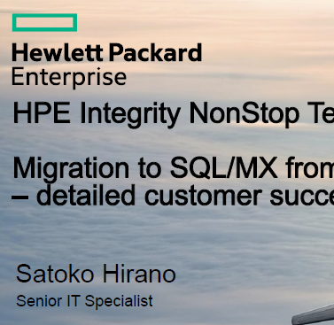 DATABASE: Migration to SQL/MX from Oracle – detailed