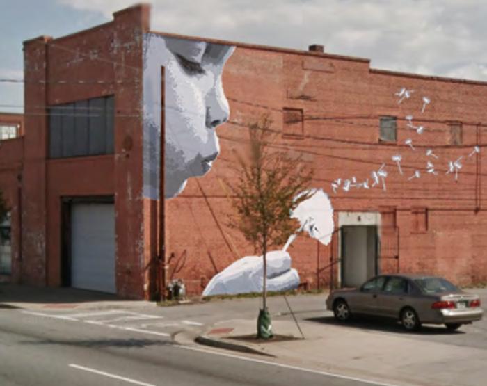Building Murals.