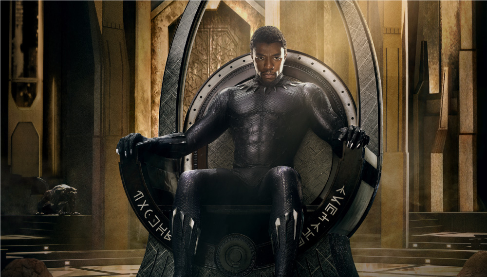 T'Challa as portrayed by Chadwick Boseman for MARVEL's Black Panther