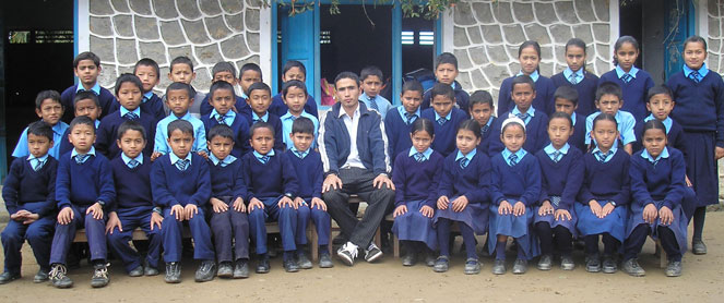 Class photo, Surya Boarding School