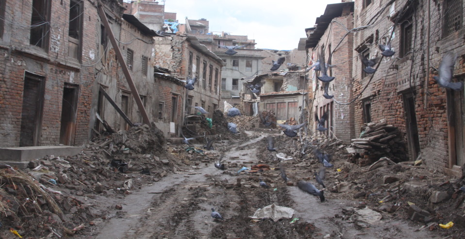 Kathmandu after the earthquake