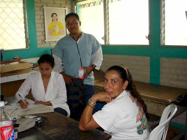 Clinic in Jalapa