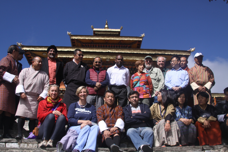 Helping Hands delegation to Bhutan, October 2015
